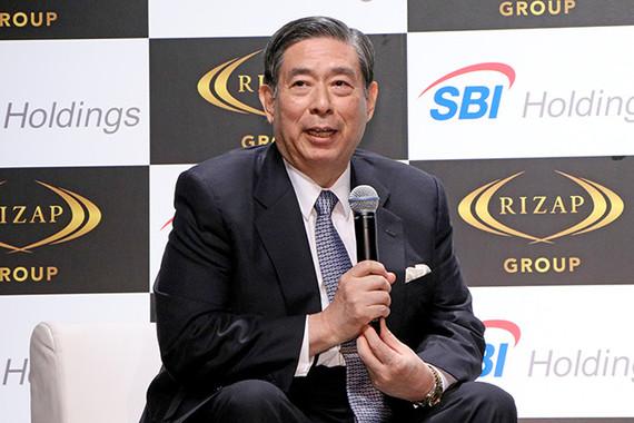 SBIの北尾吉孝社長