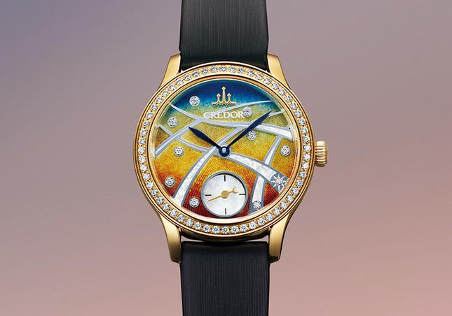 黄昏時の銀座の街を映し出すロマンティックな限定モデル「GTBE998」