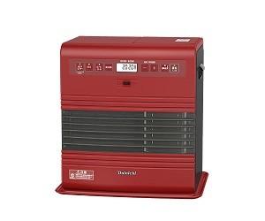 清潔なステンレスフィルターと省エネ機能で快適に暖かく