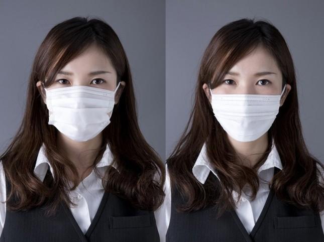 左:通常のマスク、右:美フィットマスク