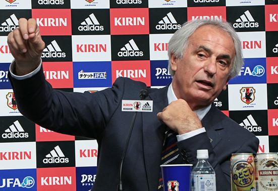 サッカー日本代表を率いる、ヴァイッド・ハリルホジッチ監督