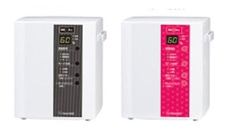 電力消費が少なく静か(写真は、「スチームファン蒸発式加湿器」毎時加湿能力350ミリリットルタイプ)