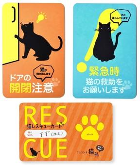 「猫が飛び出します ドアの開閉注意」 ネコ飼い専用ステッカーで「もしもの時」対策