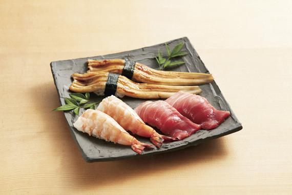 立食い寿司髭定の「大ネタ寿司」
