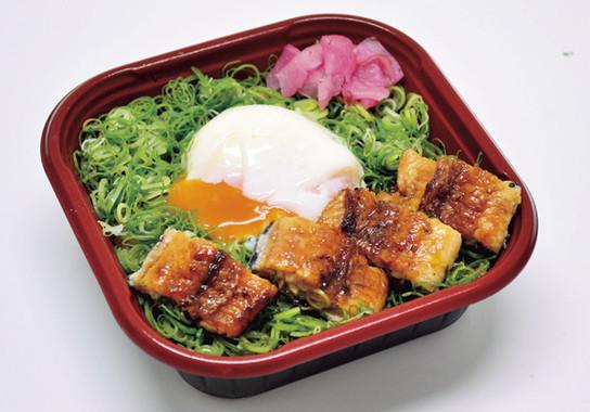 炭焼きうなぎの魚伊の「鰻のスタミナ丼」