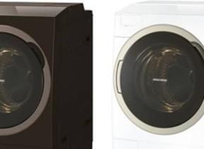 温水洗浄を5段階から選べるドラム式洗濯乾燥機 東芝から