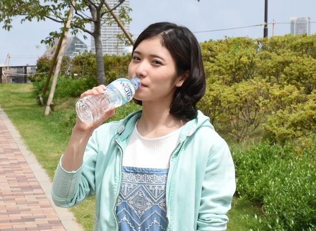 都内で新CMを撮影した松岡茉優さん