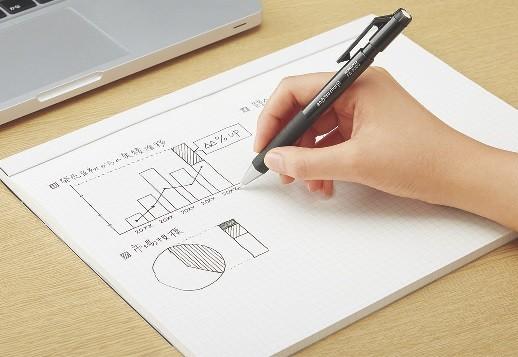 「鉛筆シャープTypeS(0.9mm)」使用シーン