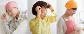 医療現場や患者の声から生まれた頭皮にやさしいサポートキャップ