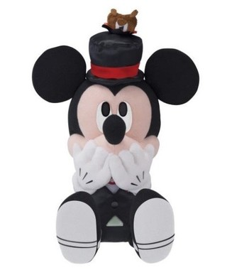 D賞ミッキーマウスぬいぐるみ~帽子にいたずら!~ (C)Disney
