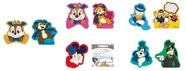 I賞メモ&ダイカットクリップセット(全5種) (C)Disney