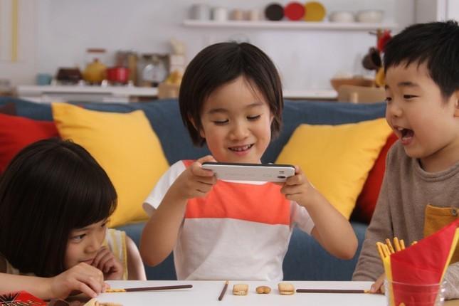 GLICODEで作ったゲームで遊ぶ子どもたちのイメージ
