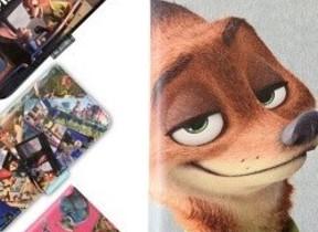 ディズニー「ズートピア」のキャラをプリント、iPhoneやAndroidなどのスマホケース