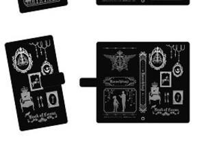アニメ「黒執事」デザインの手帳型スマホケース