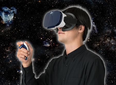 VR空間の宇宙を自由自在に移動「JOY!VR 宇宙の旅人」