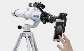 スマホカメラで天体を撮影、ビクセンからカメラアダプター