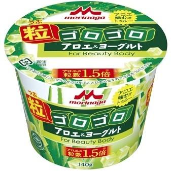 アロエ葉肉をたっぷりと配合した期間限定商品