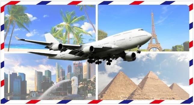 「モンストハッピーくじ」の賞品として、海外でも国内を行き先を選べる旅行が10組20名にあたる