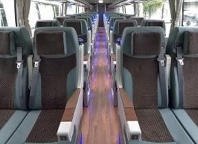 観光バスツアーがより快適に クラブツーリズム、至せり尽くせりの新車両を導入