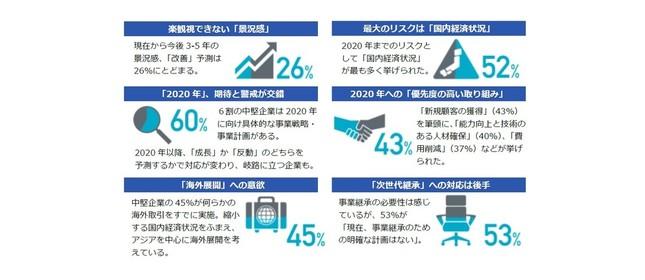 「中堅企業調査レポート2016」サマリー