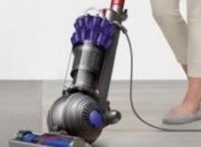多くのゴミを吸い取るアップライト型掃除機「Dyson Small Ball(TM)」