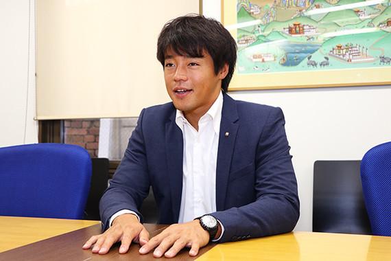 J-CASTニュースのインタビューにこたえる羽根田選手。五輪後最も変化したことは自分に対する認知度という