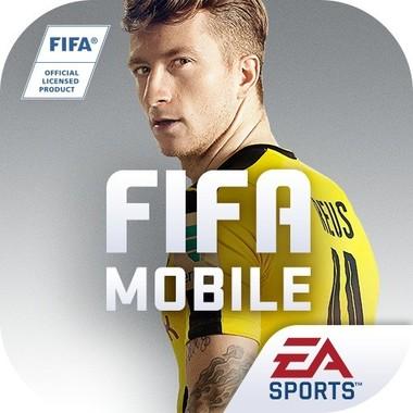 「EA SPORTSTM FIFA Mobile サッカー」のロゴ