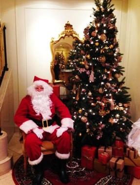 サンタからプレゼントが受け取れる(イメージ)
