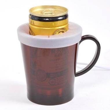 缶コーヒーも温められる