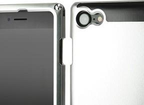 ジュラルミン製と超々ジュラルミン製のオーダーメイドiPhone 7ケース