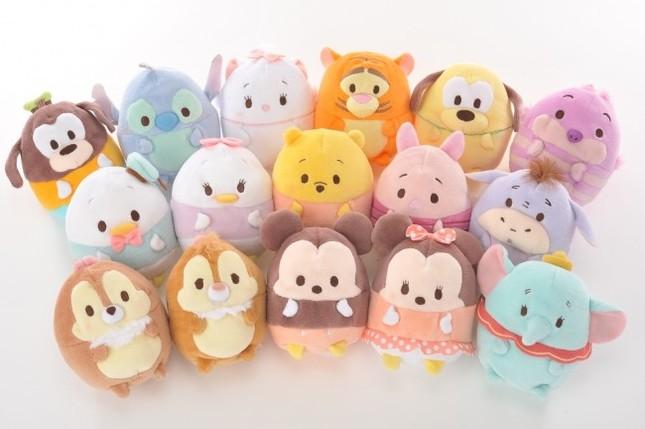 迪士尼日本推出Disney ufufy毛绒玩具系列