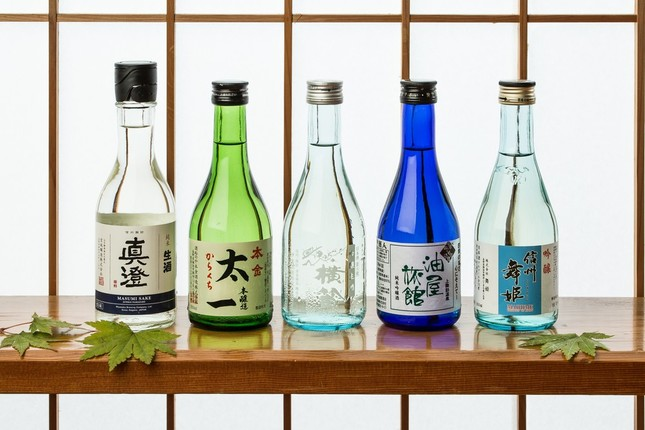 諏訪五蔵の日本酒