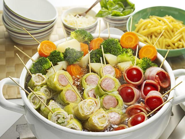 ロールロール串鍋