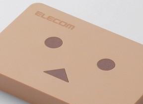 「よつばと!」人気キャラ「ダンボー」がポータブルHDDに エレコム「ELP-DBUシリーズ」