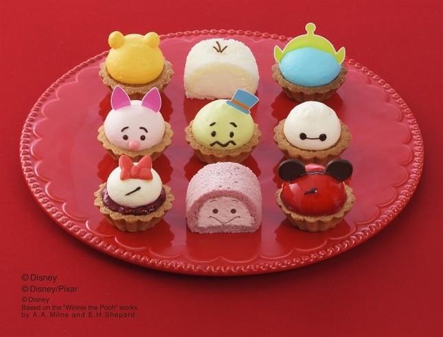 「ツムツム」のプチケーキ全9種類の詰め合わせ
