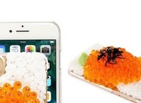 イクラこぼれるiPhone 7ケース