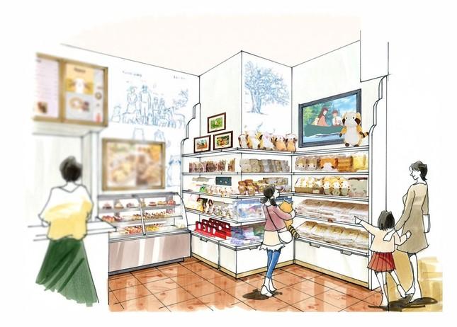 物販コーナーのイメージ