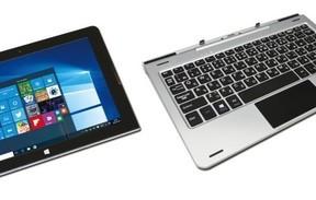 ドンキから1万9800円のWindowsタブレット 脱着式キーボード付属