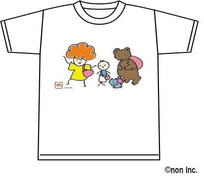「ワルイちゃん」Tシャツ「おでかけ柄」