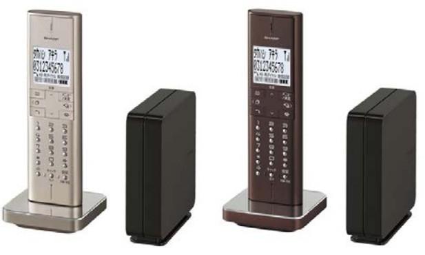 親機は電話線端子近くに設置でき、子機の充電台もコンパクト
