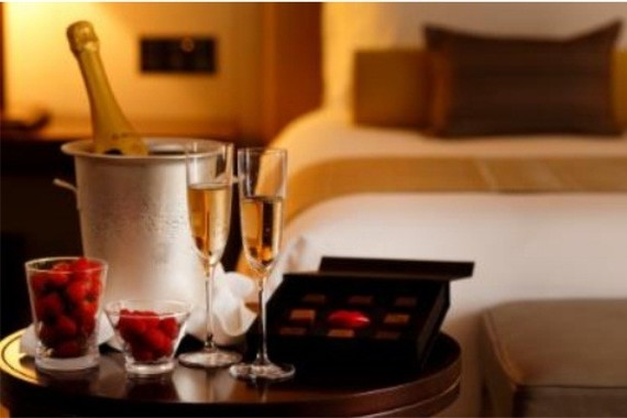 上質なショコラとシャンパンの特別な時間