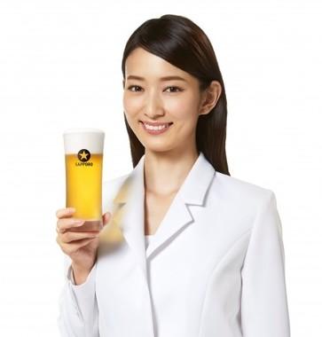 2017年サッポロビールイメージガールの川辺優紀子さん