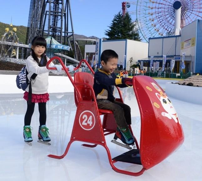 氷上ソリ「スケートメイト」
