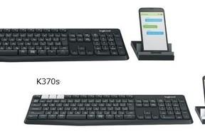スマホ、タブレットも...マルチデバイス対応のワイヤレスキーボード