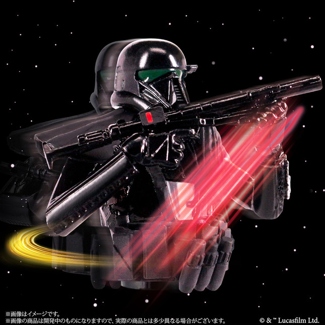 「デス・トルーパー」…体を回しブラスター銃で攻撃