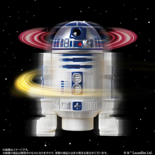 「R2-D2」…頭部とボディがスピン