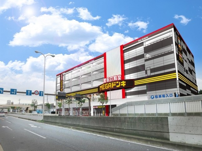 MEGAドン・キホーテ環七梅島店のイメージ図