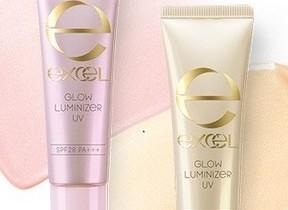 常盤薬品工業、「エクセル」から光のオーラを肌に仕込む化粧下地「グロウルミナイザー UV」発売