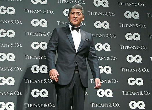 吉川晃司さんは立っているだけで強烈なオーラ