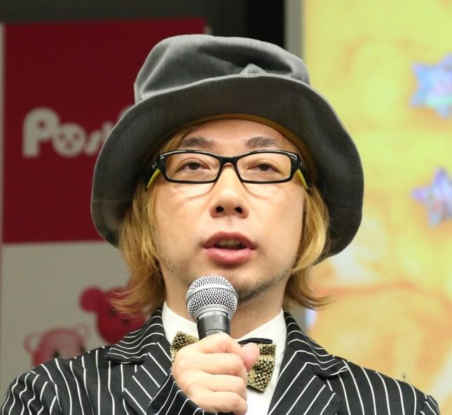 増田セバスチャンさん(2016年11月24日撮影、以下すべて同じ)